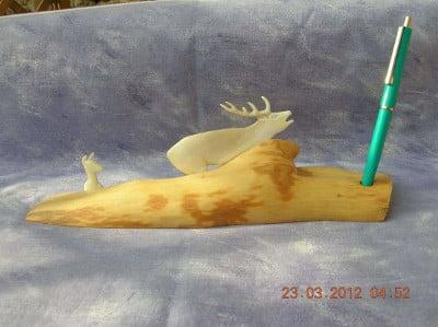 Sculpture de Cerfs, Rois de la Forêt
